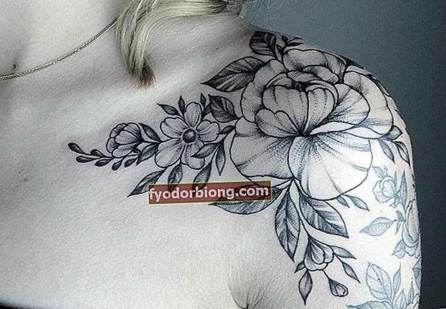Skuldertatoveringer, 100 bilder som vil inspirere deg til å tatovere