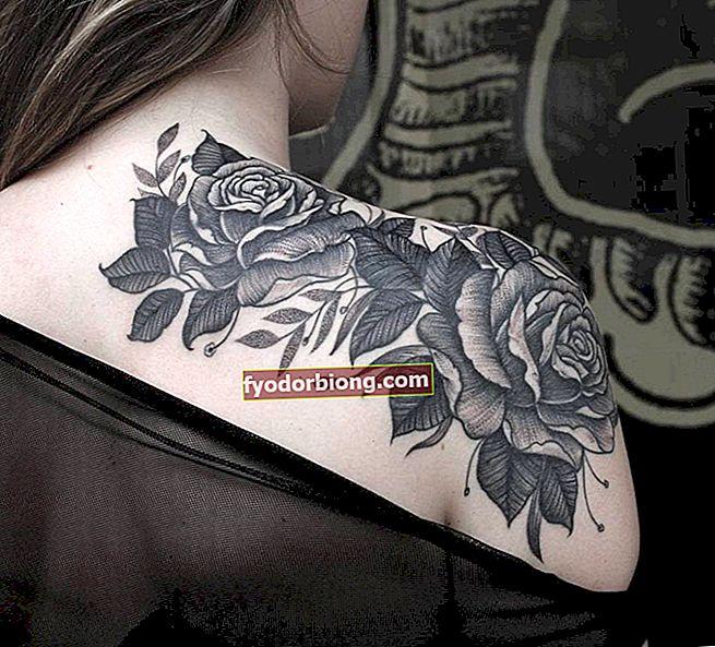 Τατουάζ ώμου - 50 διαφορετικές ιδέες για να εμπνευστείτε