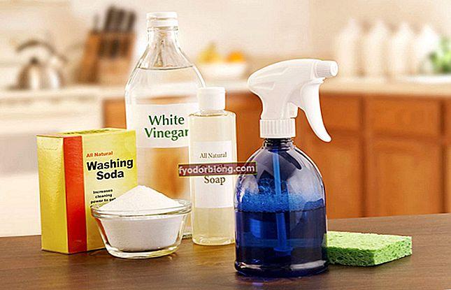 Hjemmelavet desinfektionsmiddel - Opskrifter for at spare på rengøringen