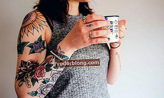 Ziedu tetovējums, 70 dizaini, lai jūs varētu iedvesmoties