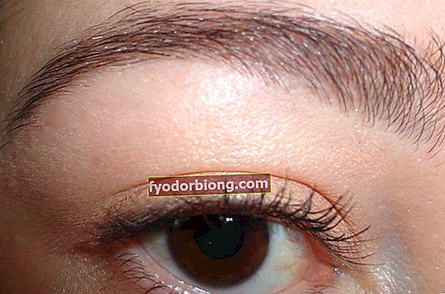 Minoxidil for voksende øyenbryn, hvordan du bruker og før og etter