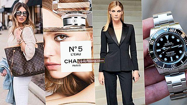 Berømte mærker - 12 dyreste luksusmærker i verden