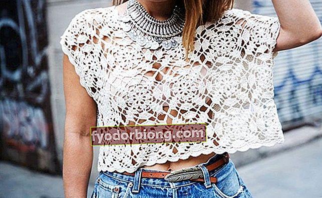 Hæklet bluse, hvordan man bærer, hvordan man laver, hvor man kan købe og inspiration