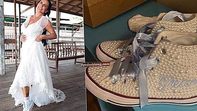 Tennisbrude - Sådan vælges tennissko til brylluppet + inspiration