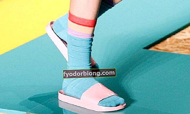 Tøfler med sokker er stigende. Vil du bruge det?