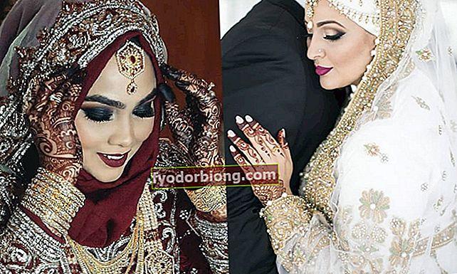 15 brude, der afslører skønheden ved muslimske bryllupper
