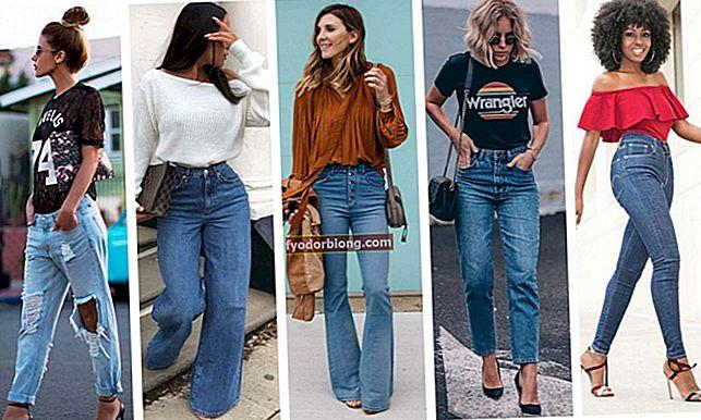Typer af bukser - Jeans og 19 muligheder for at rocke udseendet