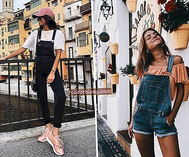 Sådan bæres denim overalls - Inspirerende udseende og modeller