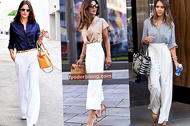 Se med hvide bukser - Sådan bruges og de bedste kombinationer