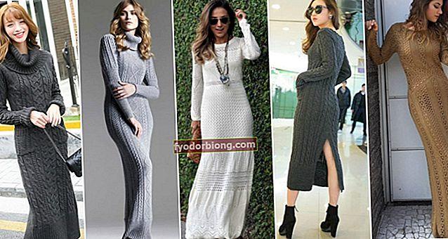 Sådan bæres en lang kjole - Tips til iført dag og nat og inspiration