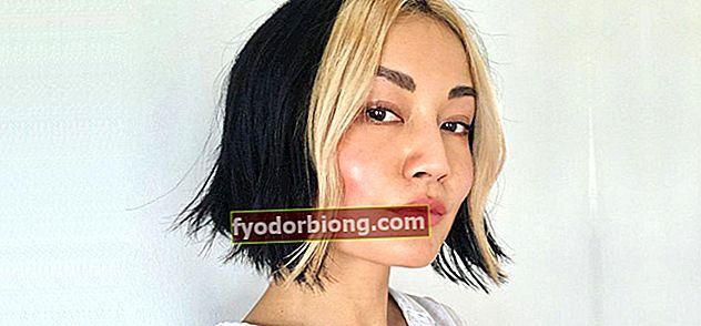 Hvid stribe i håret - Oprindelse og inspirerende modeller