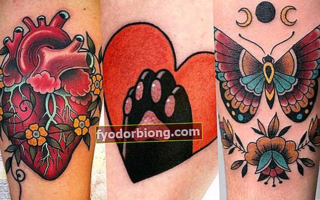 Old school-tatovering til kvinder - Oprindelse og modeller at vælge imellem