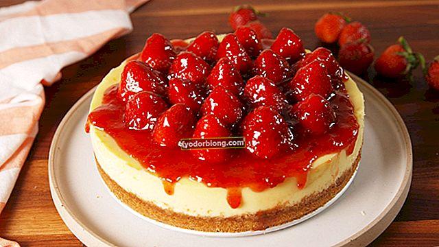Opskrift med jordbær, 6 lækre desserter