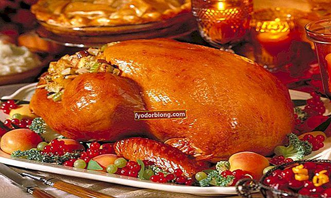Oplev de mest typiske Thanksgiving-retter