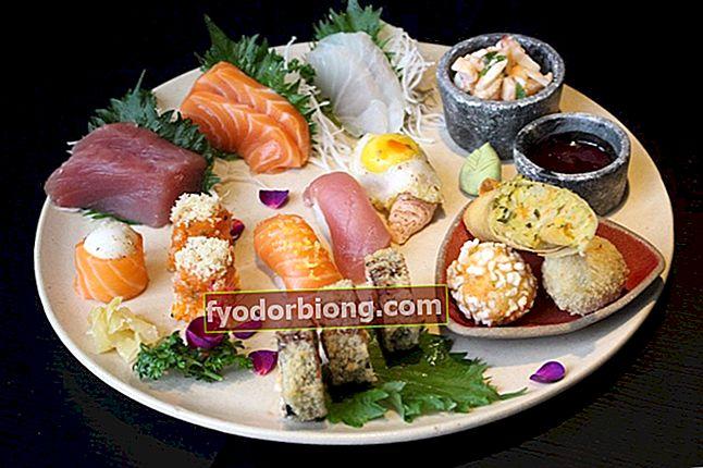 Sådan laver du sushi derhjemme - Typer udviklet og opskrifter