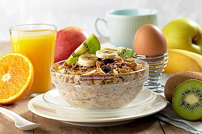 Sund morgenmad - hvad man skal spise, hvad man skal undgå og opskrifter