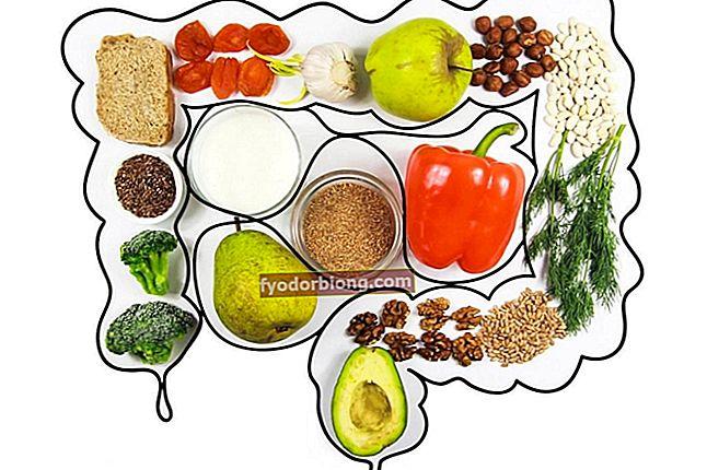 Tarmfangende fødevarer angivet for at forhindre forstoppelse