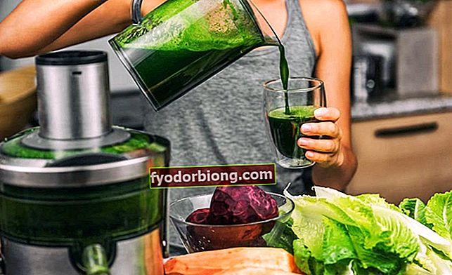 Detox diæt, fuld menu på 3 til 5 dage for at tabe sig og dexintoxicate